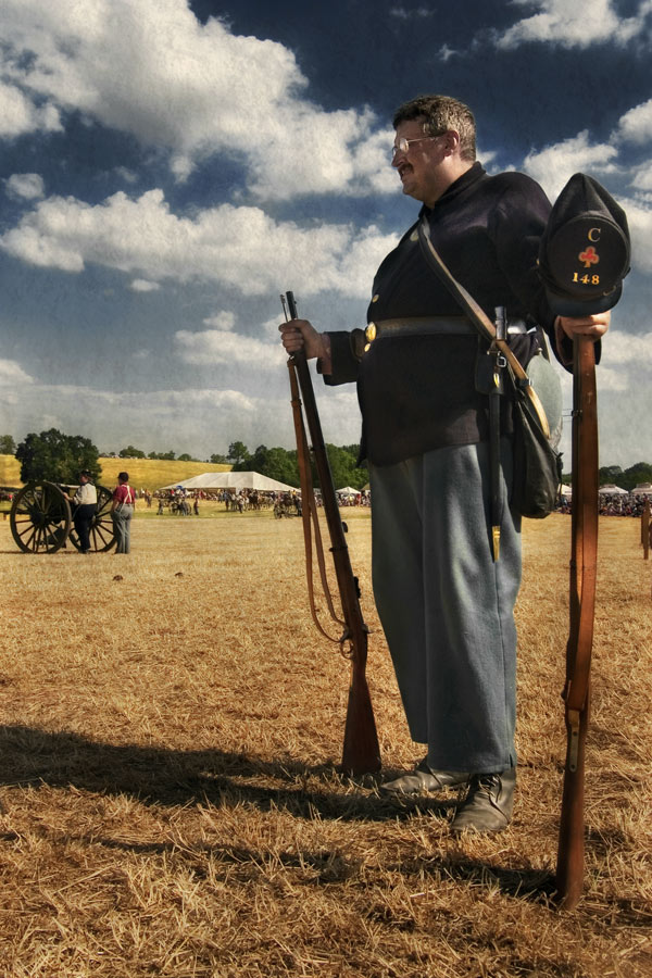A Union Soldier, Second Corps, First Division, Irish Brigade