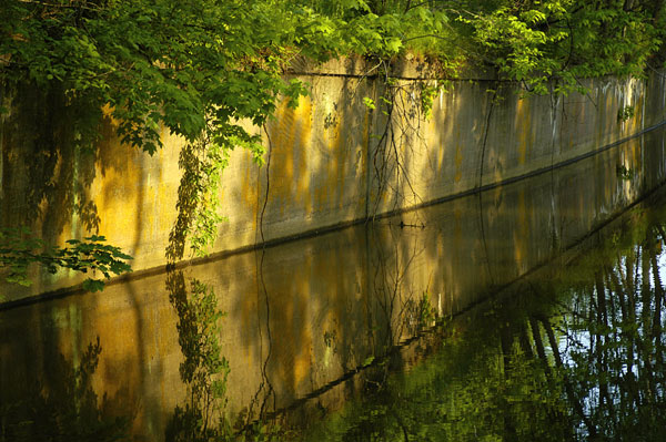 Delaware Canal Wall at Raubsville