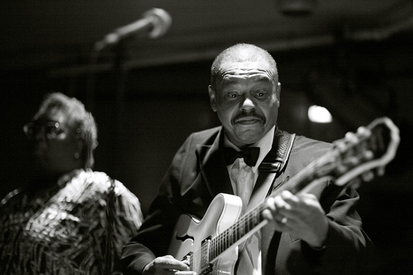 Guitarist at The Cotton Club